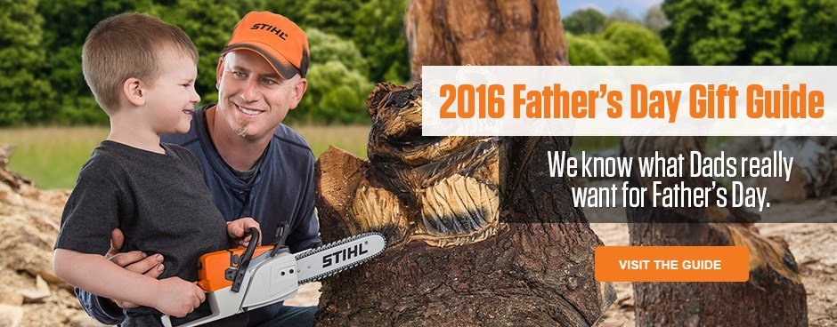 STIHL 2016 Father's Day Gift Guide
